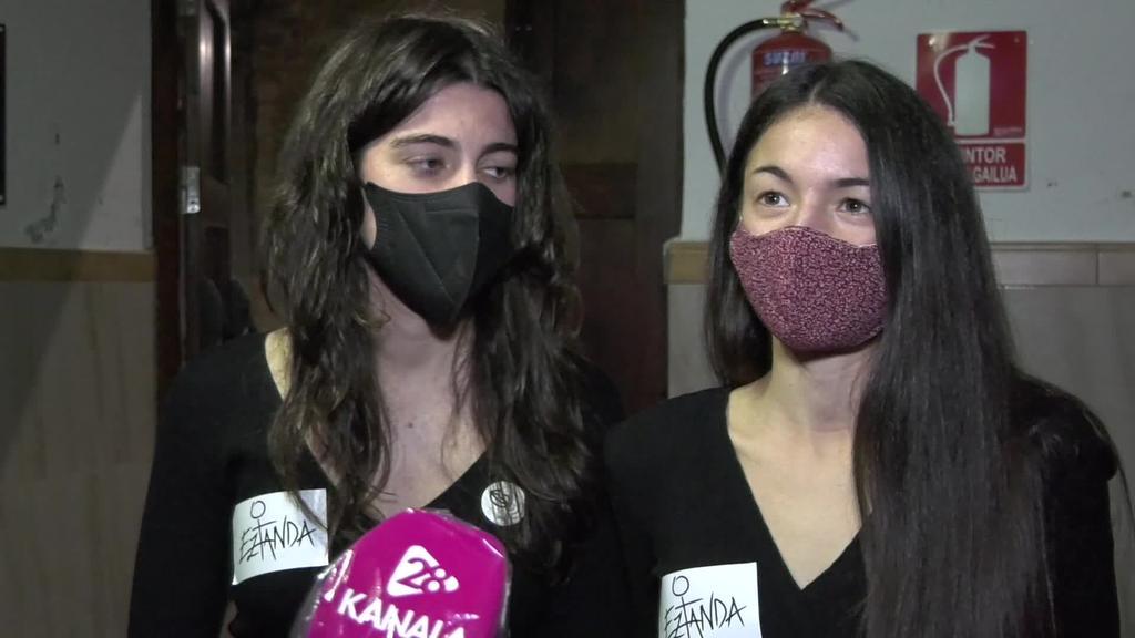 Eztanda talde feministaren aurkezpena egin dute Alegian