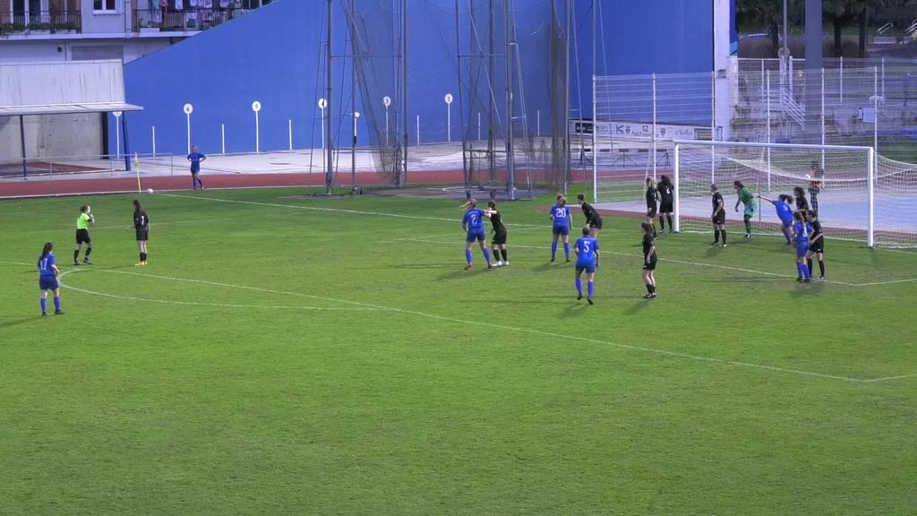1-2ko porrota Tolosarentzat Oiartzunen aurka etxean jokatutako azken partiduan