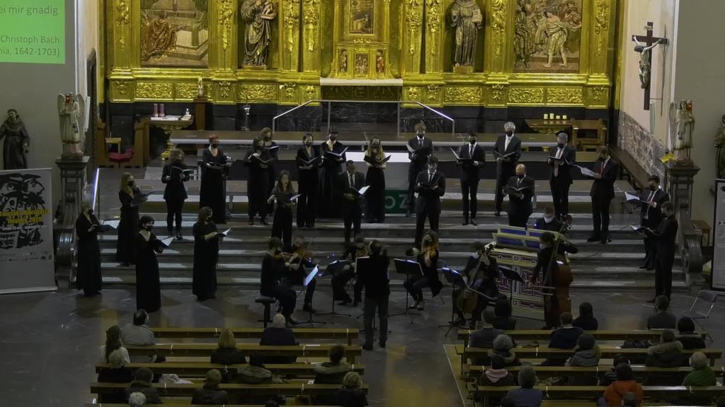 Tolosako Abesbatza Jaialdia: Bach ispiluaren aurrean (Conductus ensemble)