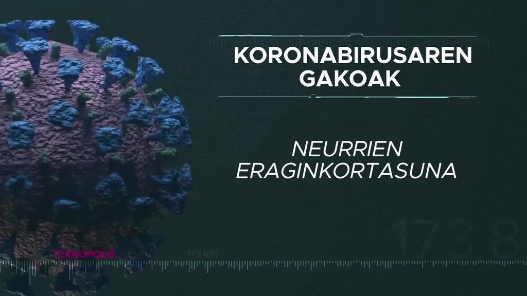 Koronabirusaren gakoak: Neurrien eraginkortasuna