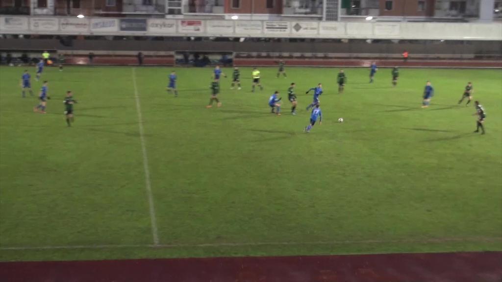 Bost gol jaso eta joko gutxi erakutsi zuen Tolosa CFk larunbatean