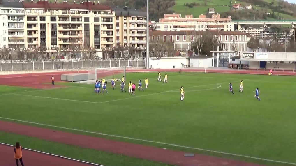 Denboraldiko bigarren garaipena  Tolosa CFrentzat
