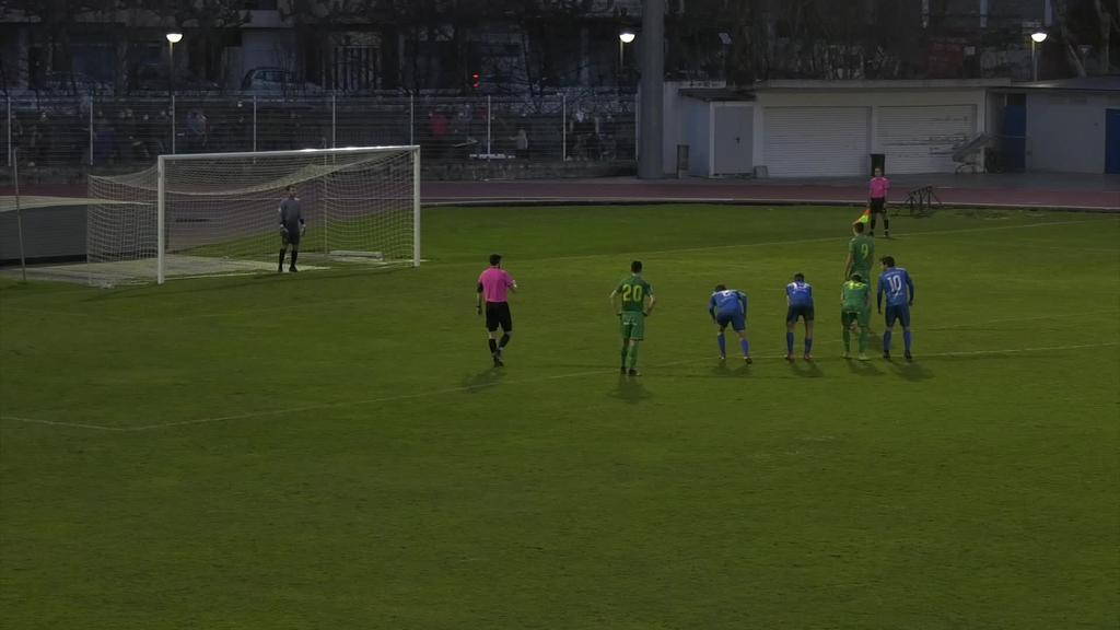 Luzapenean bi gol jaso eta galdu egin zuen Tolosa Cfk partiduaren amaiera polemiko batean