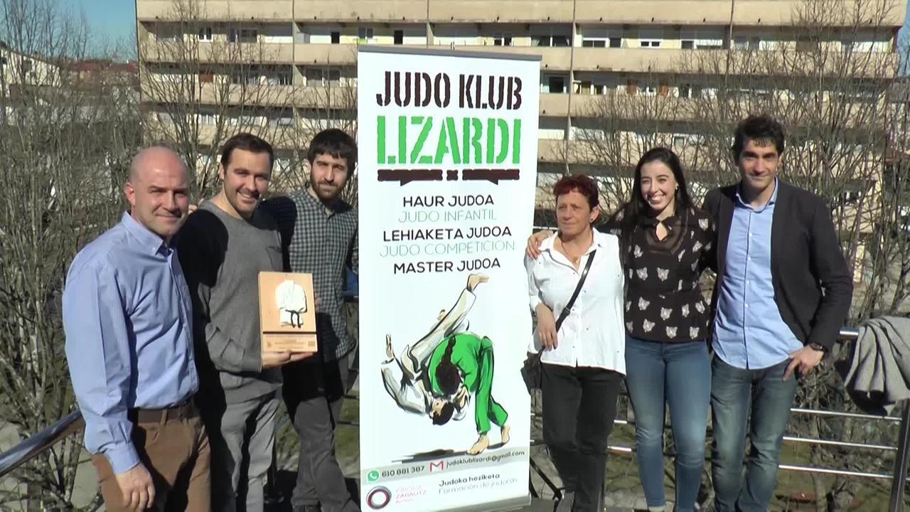 Judo klub Lizardi elkarteak 20 urte bete ditu