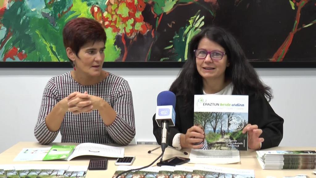 Eraztun Berde Urdina ingurumen aldizkariaren aurkezpena