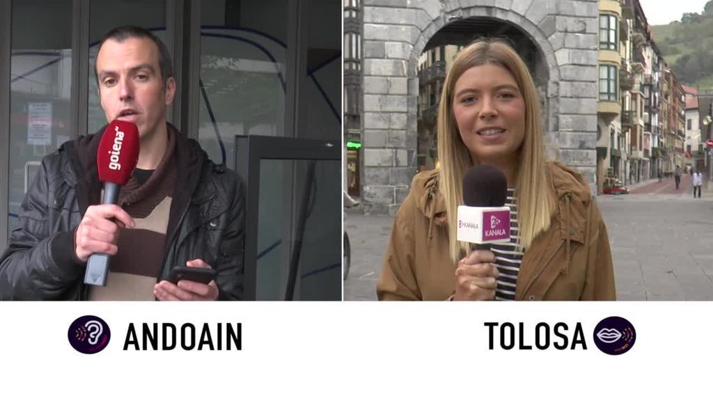 Euskaraldia -Tolosa eta  Andoain