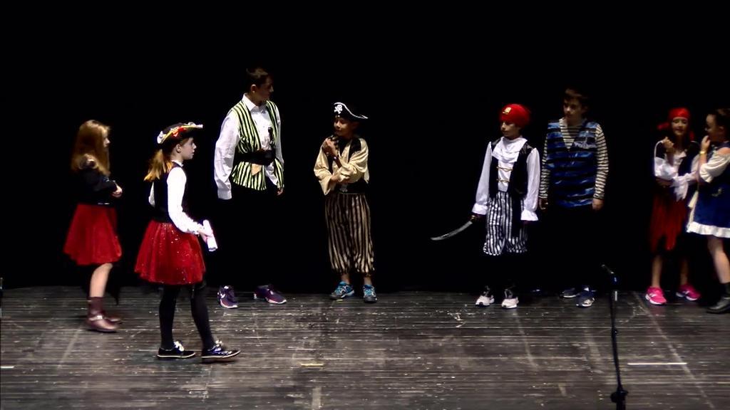 Pirata izan nahi dut - Bermeoko Sagrado Corazon