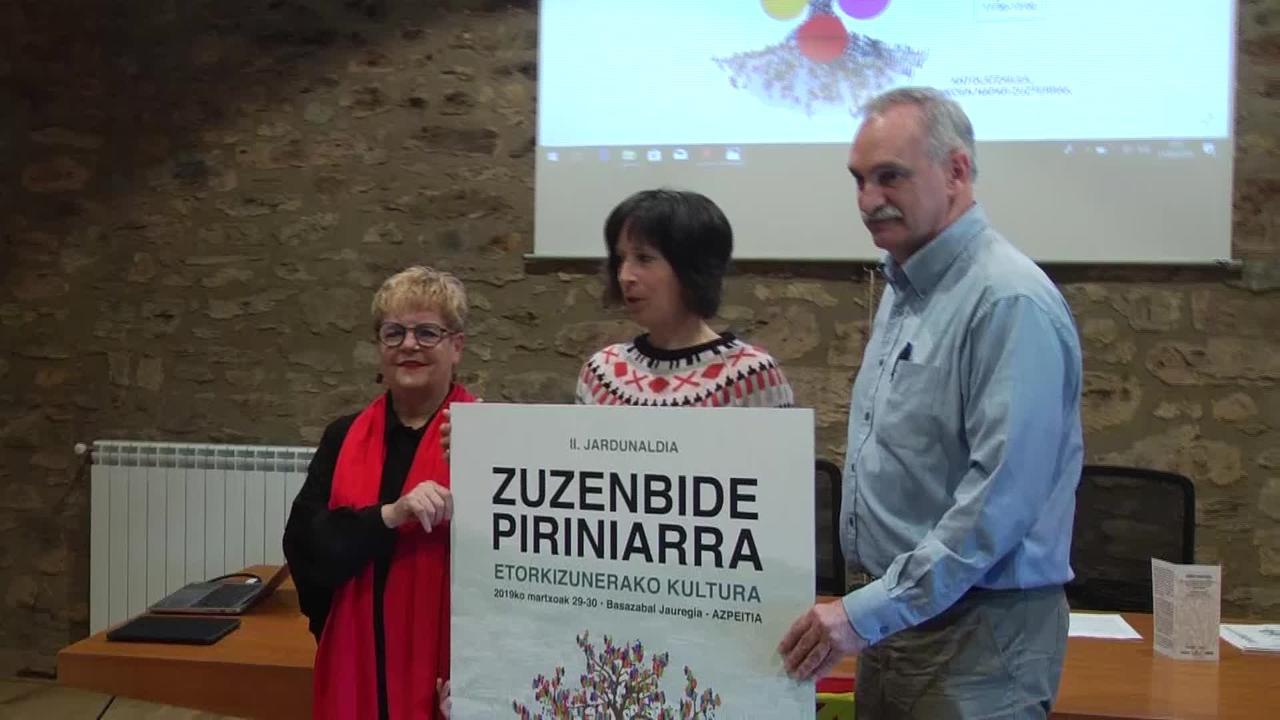"""""""Zuzenbide Piriniarra"""" saioa eskeiniko du Nabarralde  fundazioak"""
