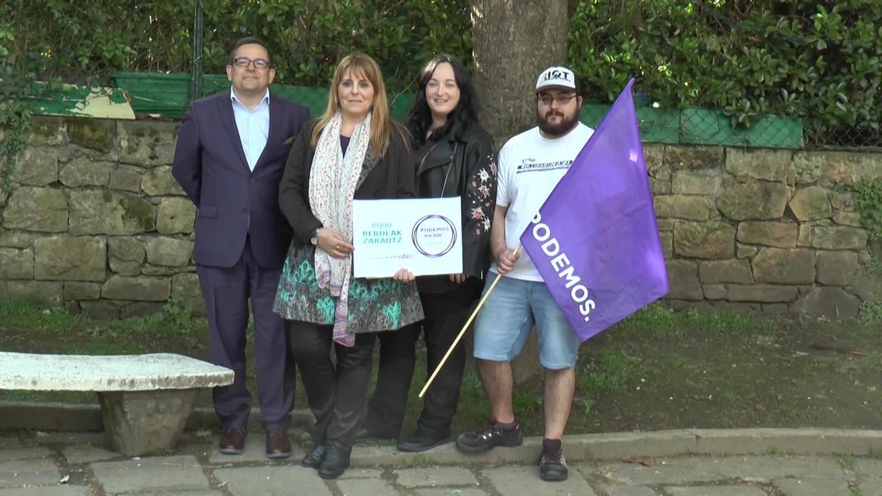 Ana de Benito izango da Podemos-Equo Berdeak-en alkategaia