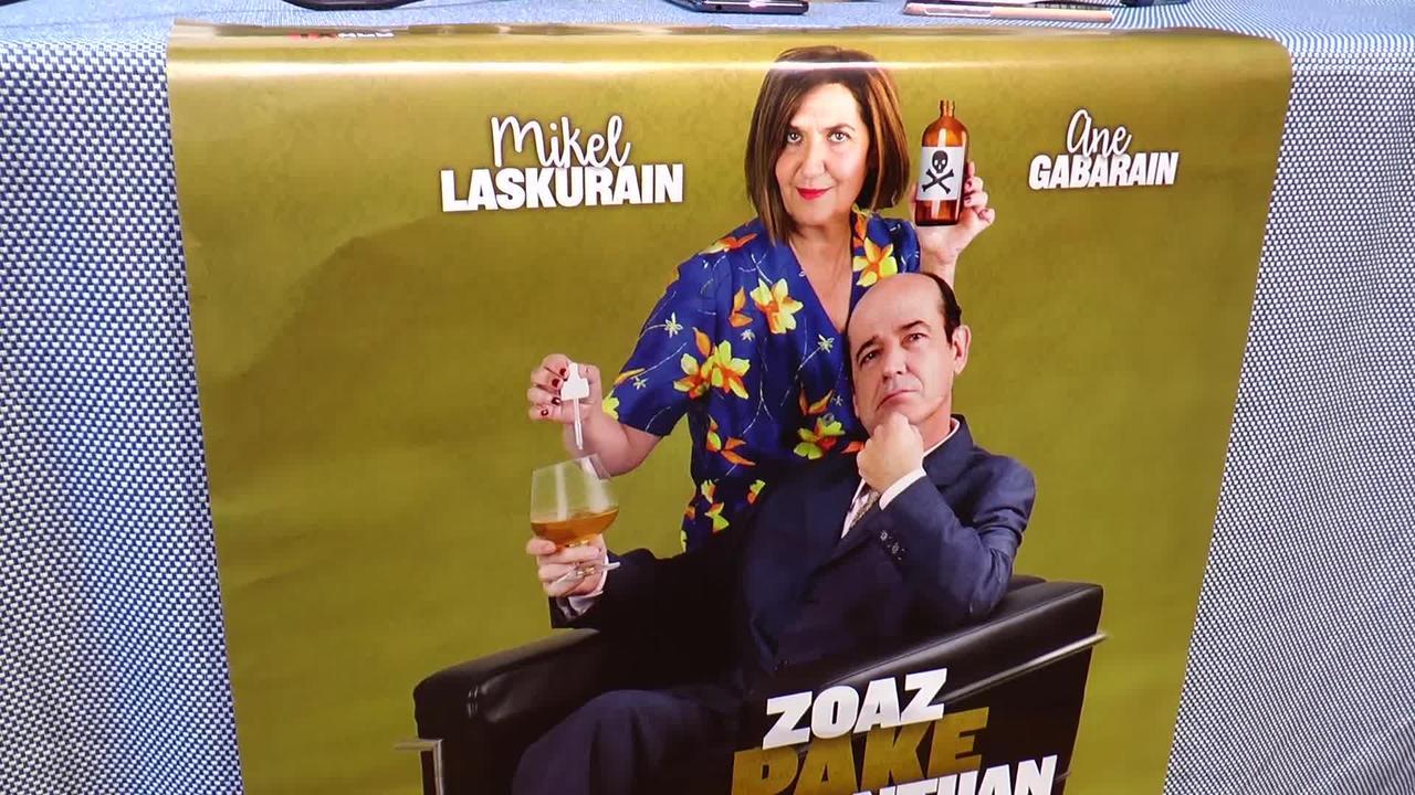"""""""Zoaz pake santuan"""", antzezlana taularatuko da larunbatean Azkoitiko Baztartxo antzokian"""