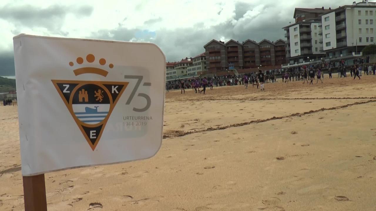 75. Hondartzako futbol txapelketen final