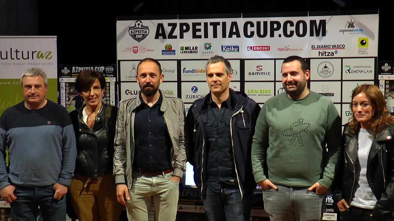 Azpeitia Cup txapelketa ekainean egingo da