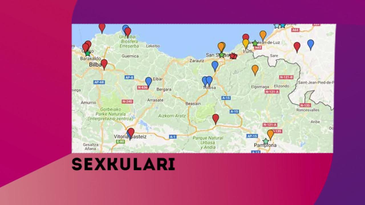 Sexkulari, Plazerraren mapa