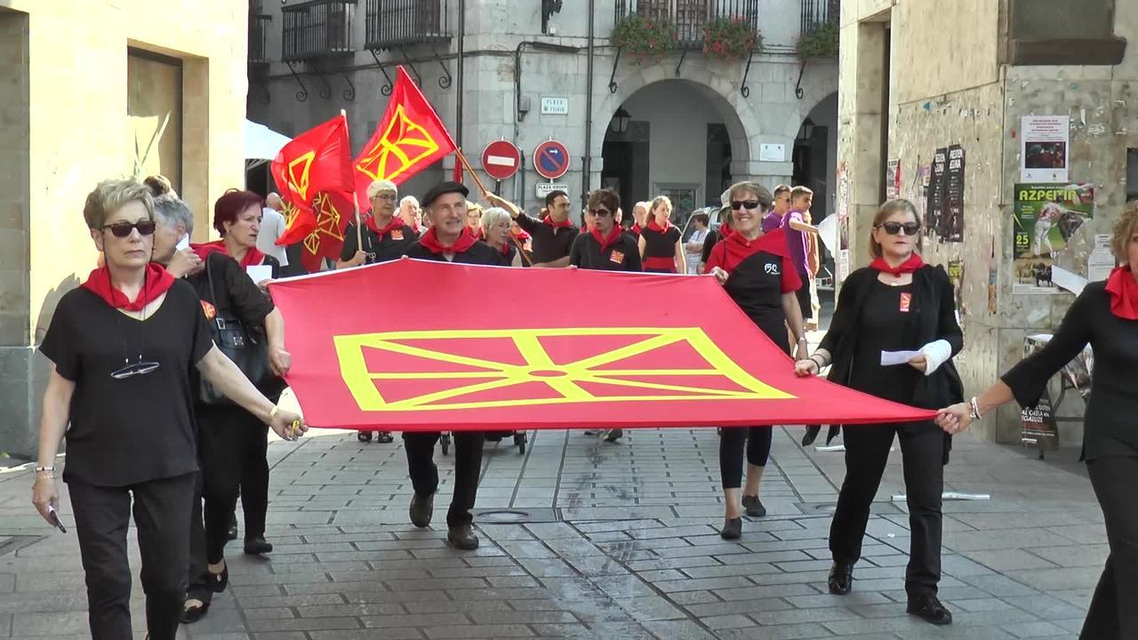 Nafarroako banderari omenaldia