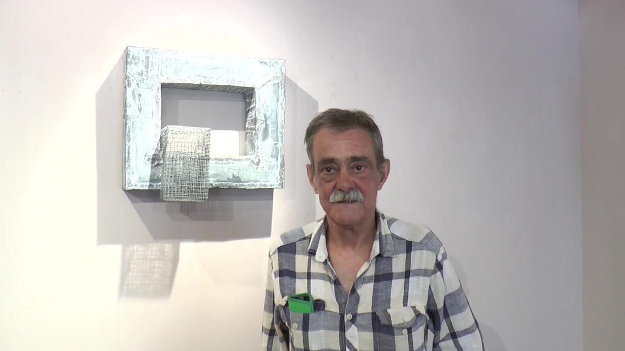 Iñaki Olazabal artistak erakusketa zabaldu du  irailaren 15era arte