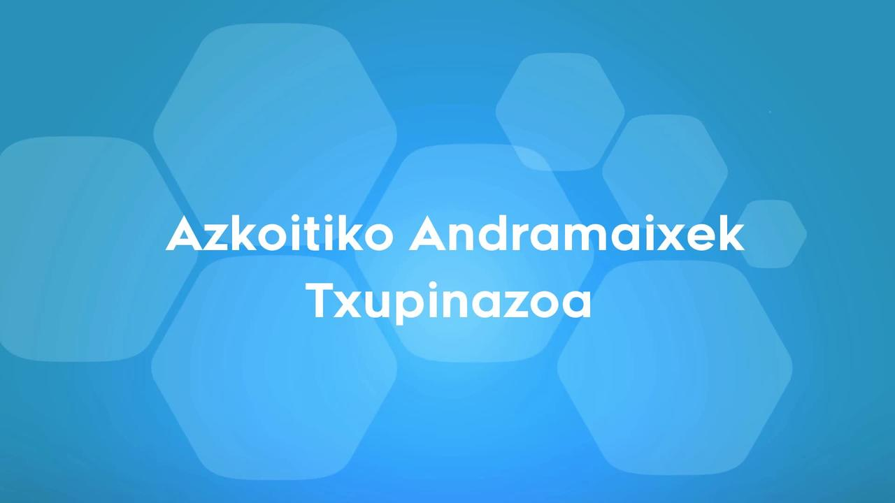 Azkoitiko Andramaxek Txupinazoa
