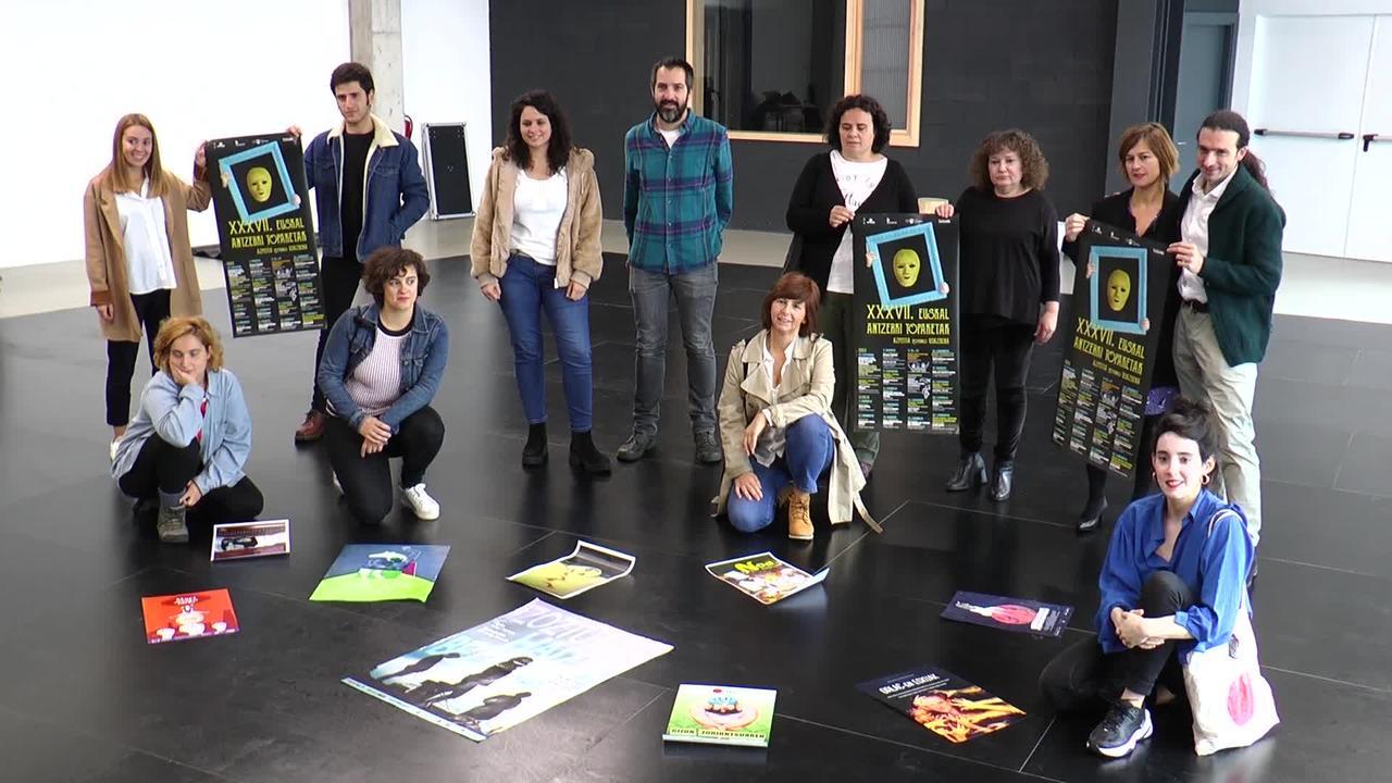 30 antzezlan eta lau estreinaldi, izango dira Euskal  Antzerki Topaketen menuan.