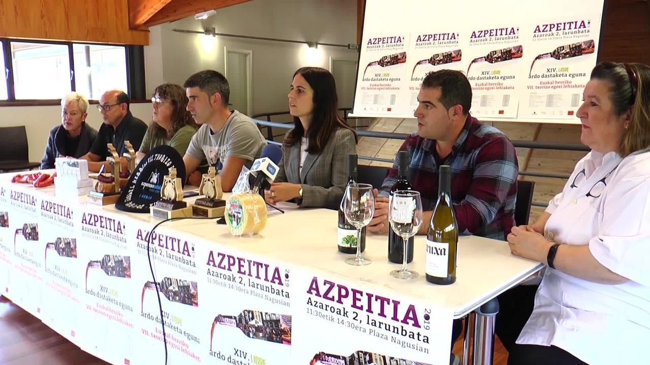 Azaroaren 2an XIV. Libre Ardo Dastaketa Eguna eta Euskal Herriko Txorizo egosi txapelketa ospatuko dira.