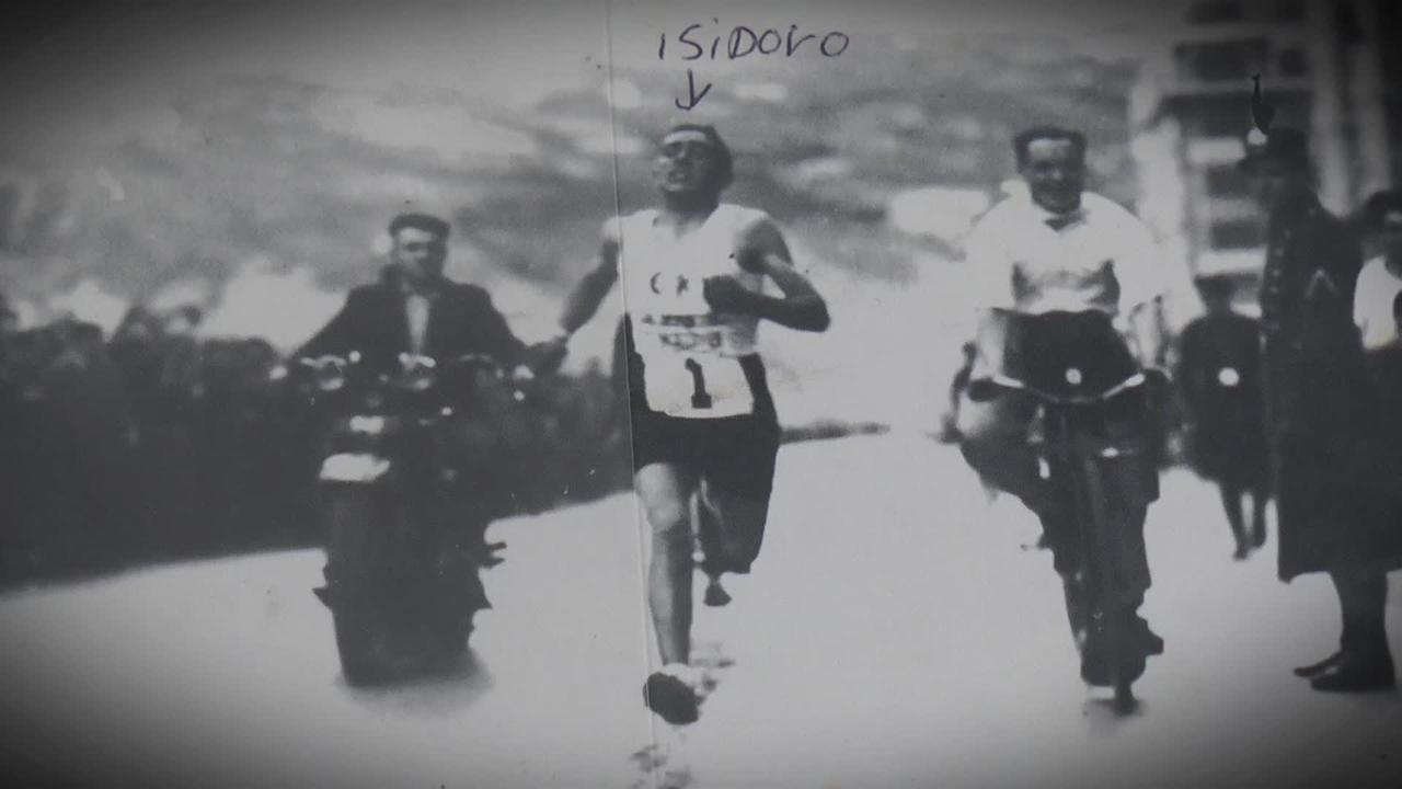 Isidoro Unzueta korrikalaria