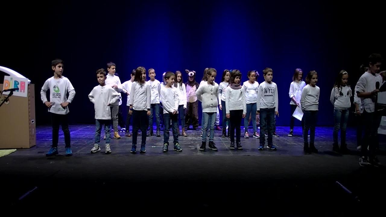 """XXXVII. Euskal Antzerki Topaketak Amezketa Zumadi Herri Ikastetxea """"Eskalopendra, ipuin musikatua"""""""