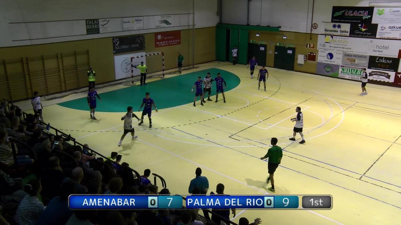 AMENABAR ZARAUTZ Z.K.E. - ARS CLUB PALMA DEL RIO eskubaloi partida