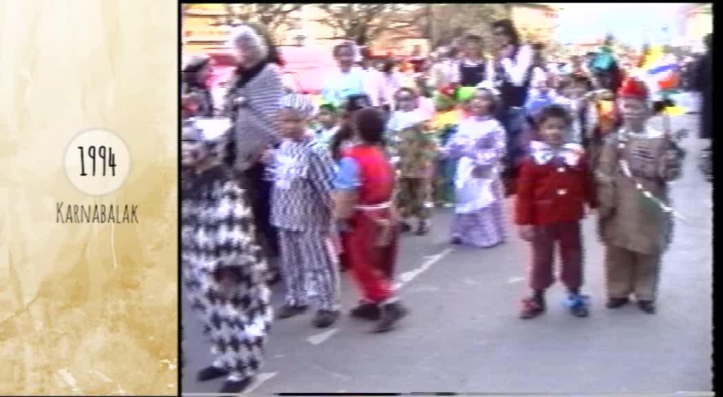 Atzera begira karnabalak 1994 Azkoitia