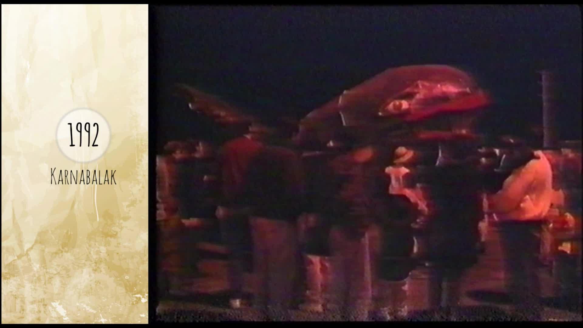 Atzera begira inauteriak  1992 Zarautz