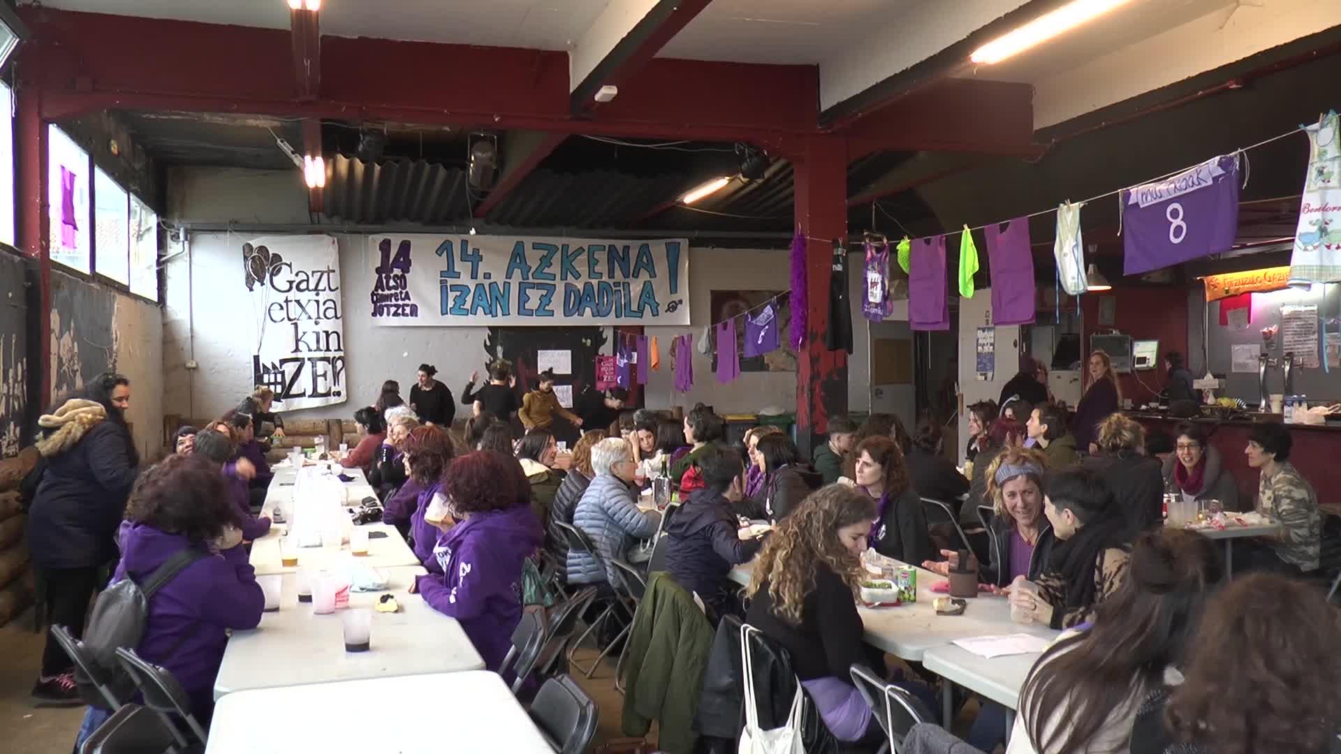 Zarauzko Koordinadora Feministak martxoak 8aren balorazioa egin du