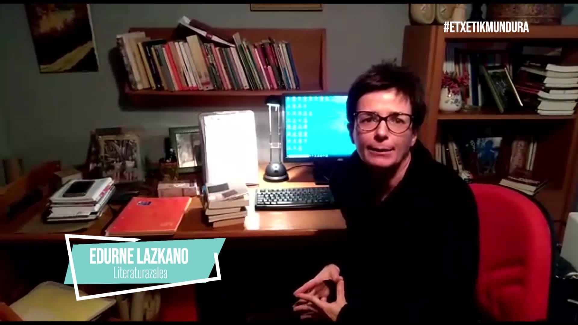Edurne Lazkano, etxetik mundura