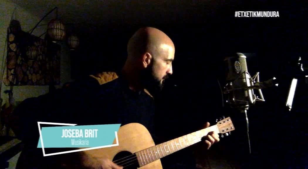 Joseba Briten musika, etxetik mundura
