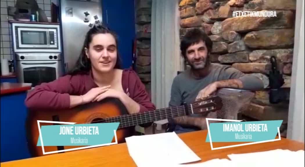 Jone eta Imanol Urbietaren musika, etxetik mundura