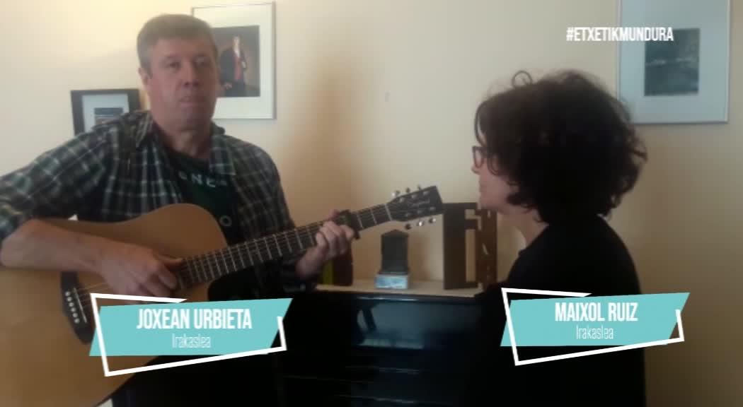 Joxean Urbieta eta Maixol Ruizen musika, etxetik mundura