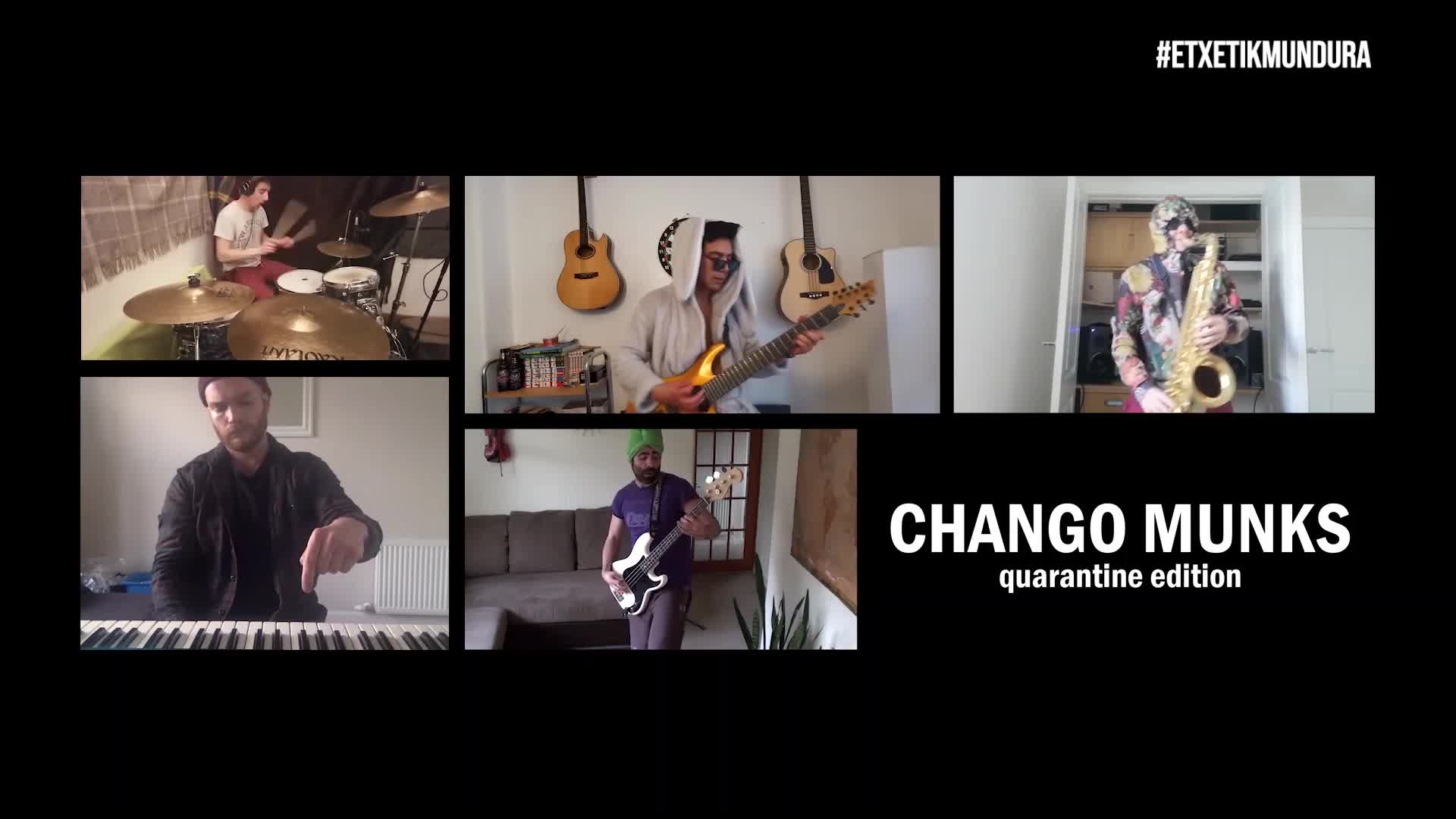 Chango Munks musika taldea, etxetik mundura