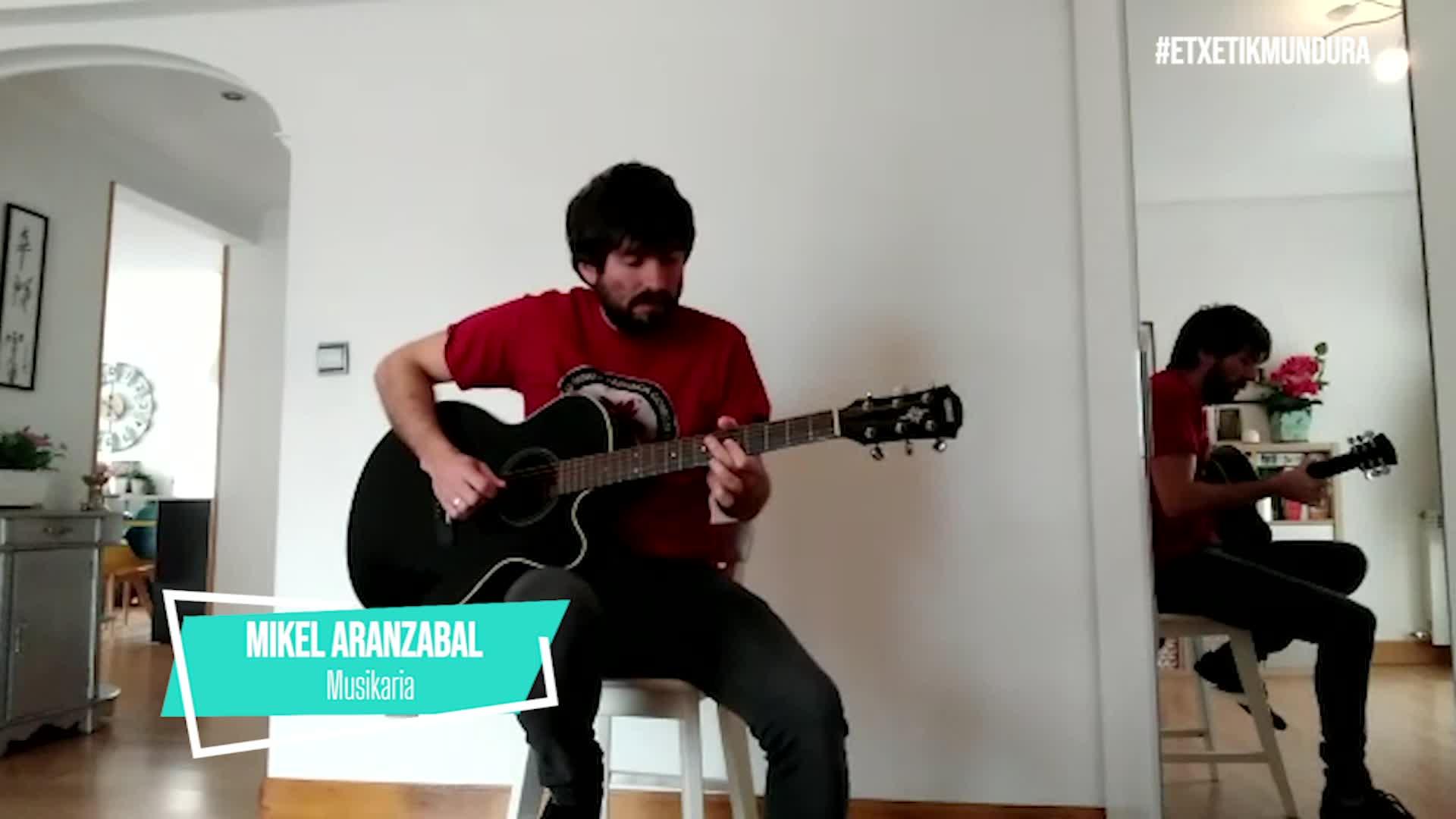 Mikel Aranzabal, etxetik mundura
