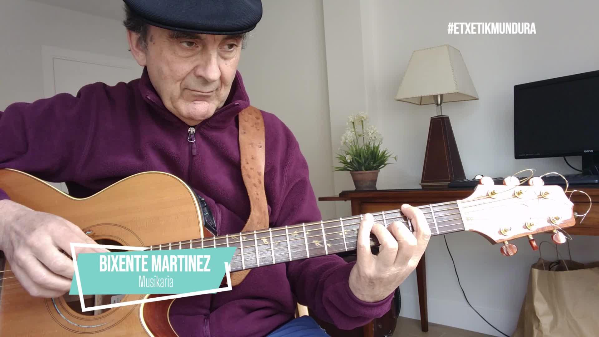 Bixente Martinezen musika, etxetik mundura