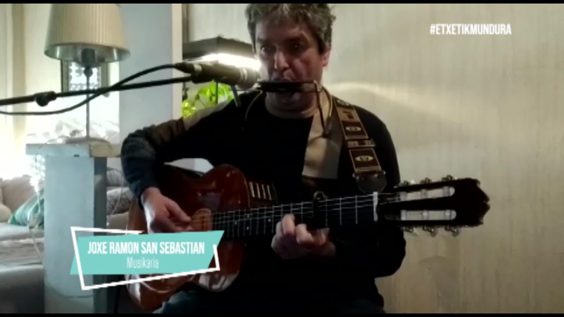 Joxe Ramon San Sebastianen musika, etxetik mundura
