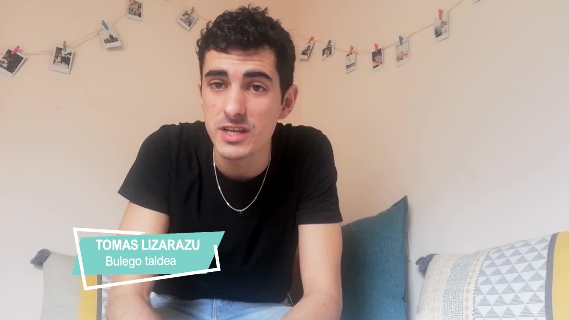 Tomas Lizarazu, etxetik mundura