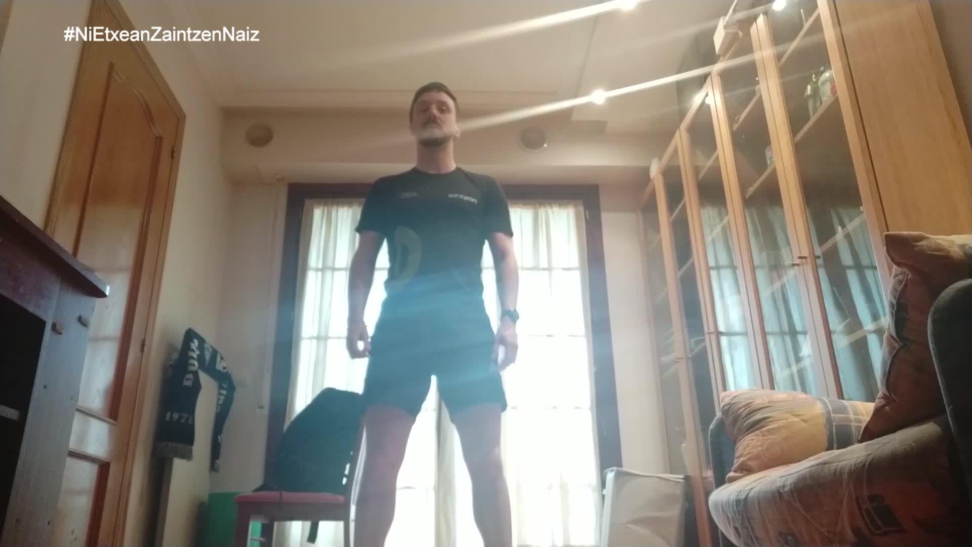 #NiEtxeanZaintzenNaiz: Zarauzko kiroldegiko begiraleen helduen 17.saioa