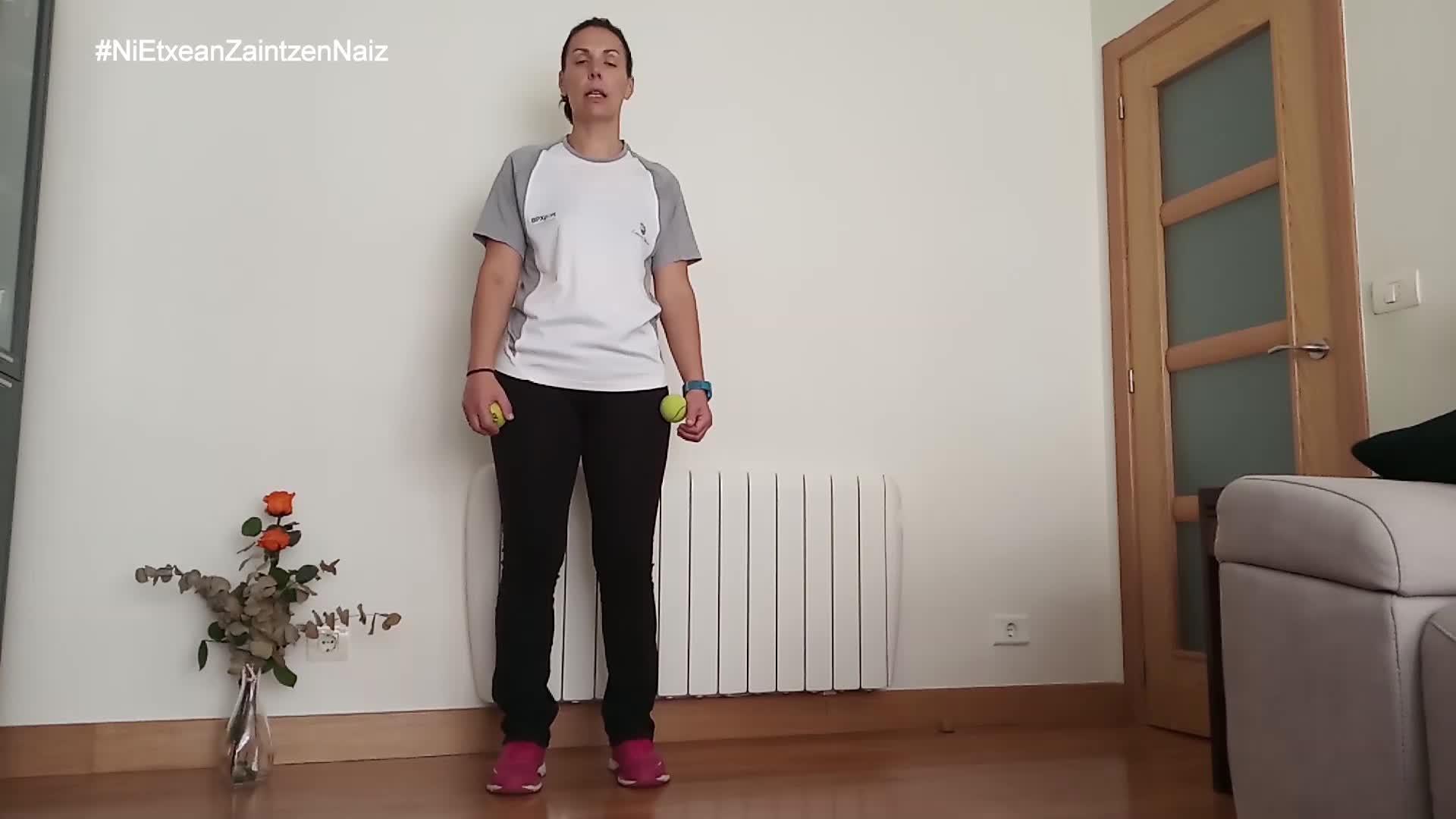 #NiEtxeanZaintzenNaiz: Zarauzko kiroldegiko begiraleen gazteen 35. saioa