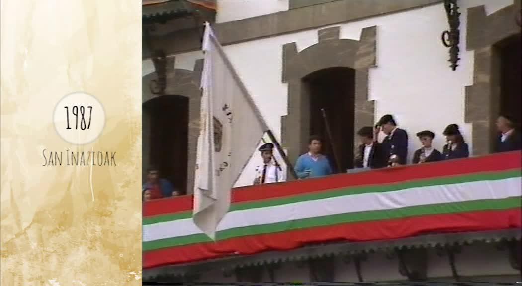 Atzera Begira San Inazioak 1987