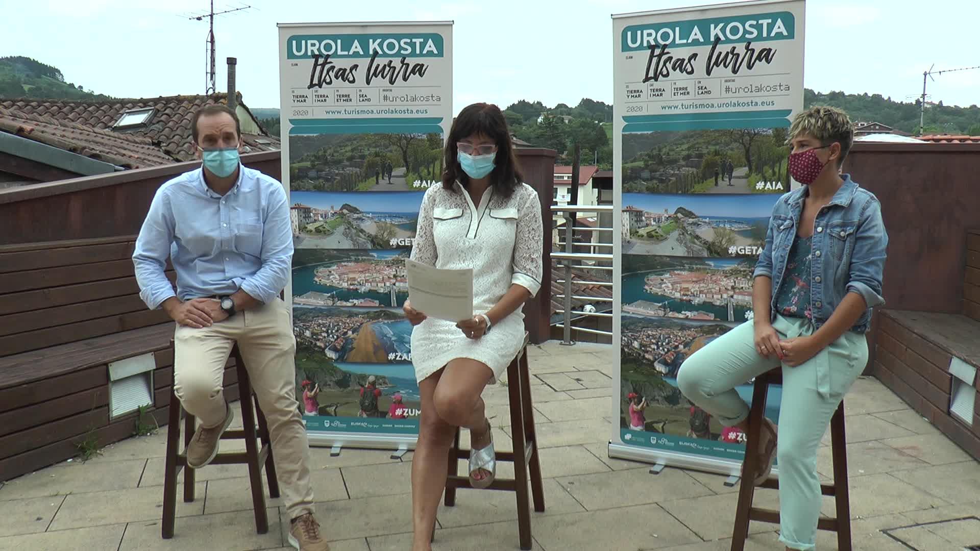 'Urola Kosta: itsas-lurra' kanpaina aurkeztu du UKUEk