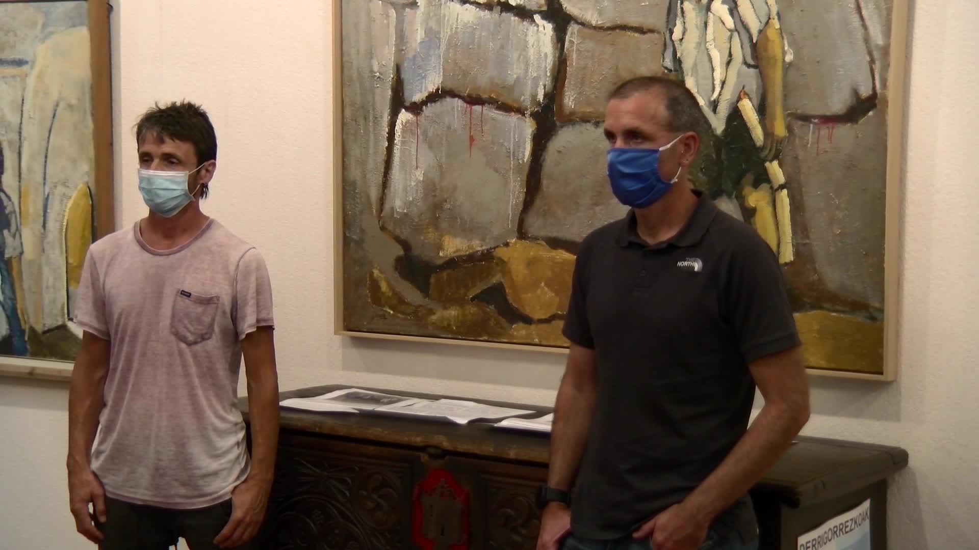 Julian Ugarte artista eta margolariaren erakusketa irekiko dute larunbatean