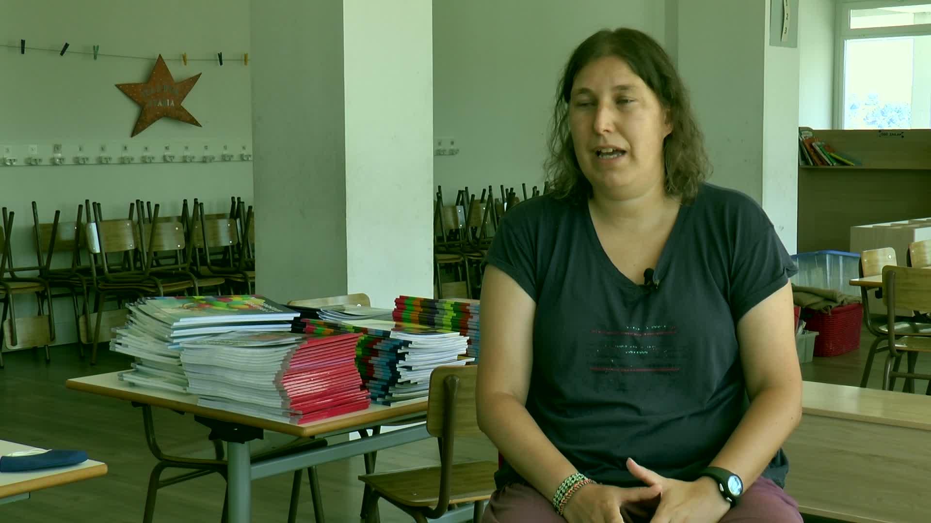 Maite Pardina Zarauzko La Salle eskolako zuzendariari elkarrizketa