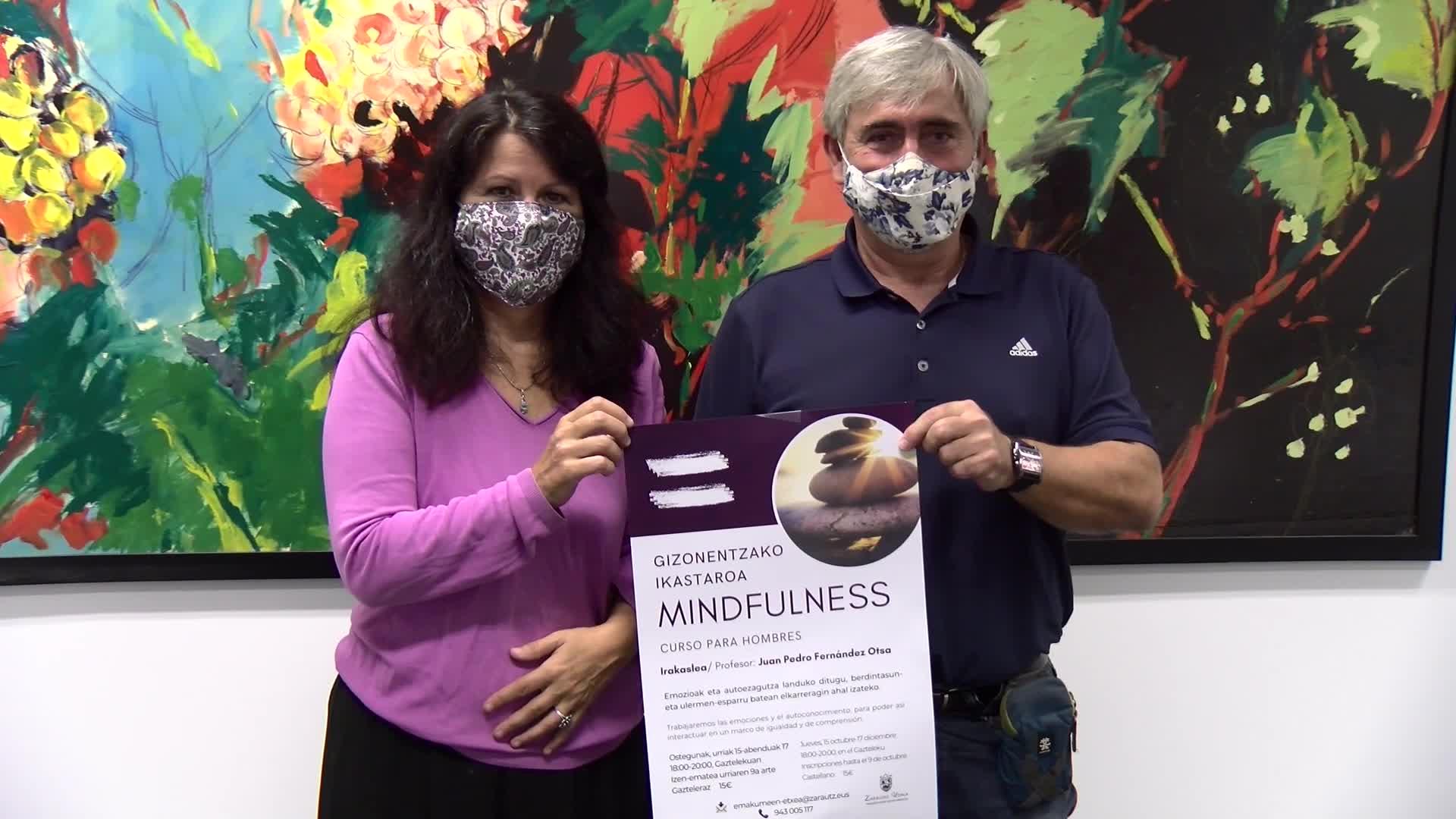 Mindfulness gizonentzako ikastaroa