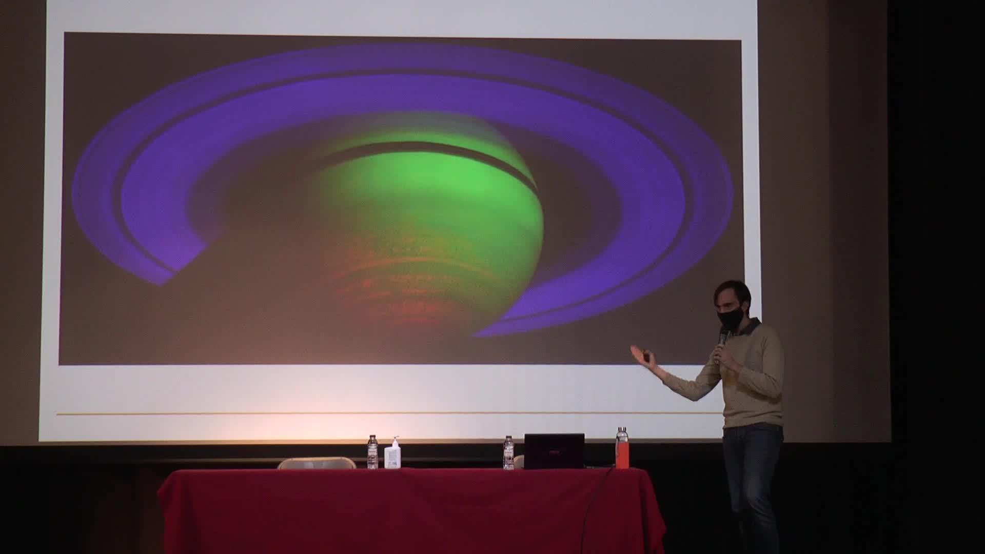 Ander Gonzalez de Txabarriren hitzaldia, ZARAUZKO XXII ASTRONOMIA JARDUNALDIAK