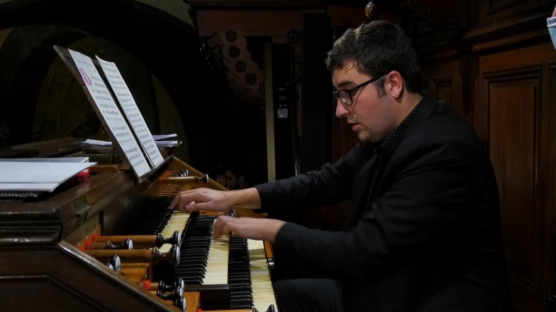 Organo Erromantikoaren XXI. Zikloa Ignacio Arakistain organista, Jon Aramendi tronpeta eta Mariatxen Urkia sopranoa