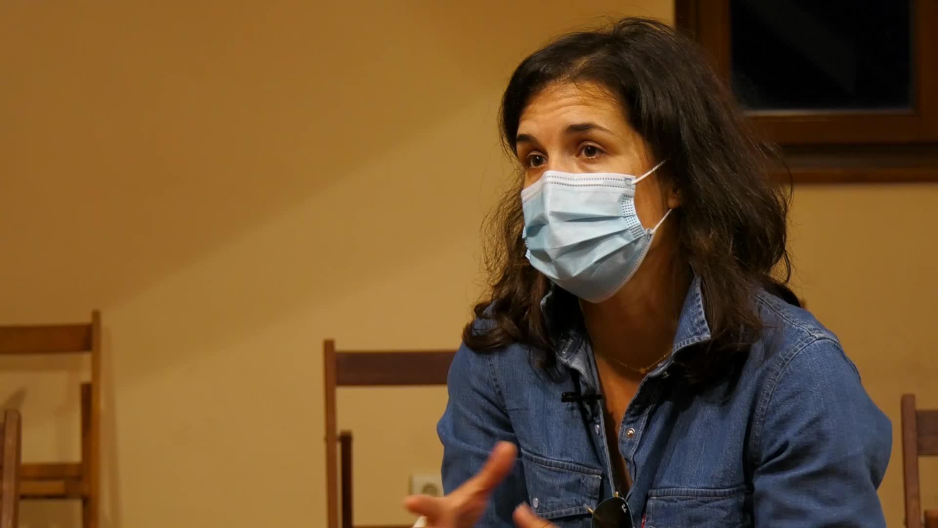 """Maria Rosario Alberdi: """"Psikologikoki oso gogorra da hainbeste egun etxean egotea"""""""