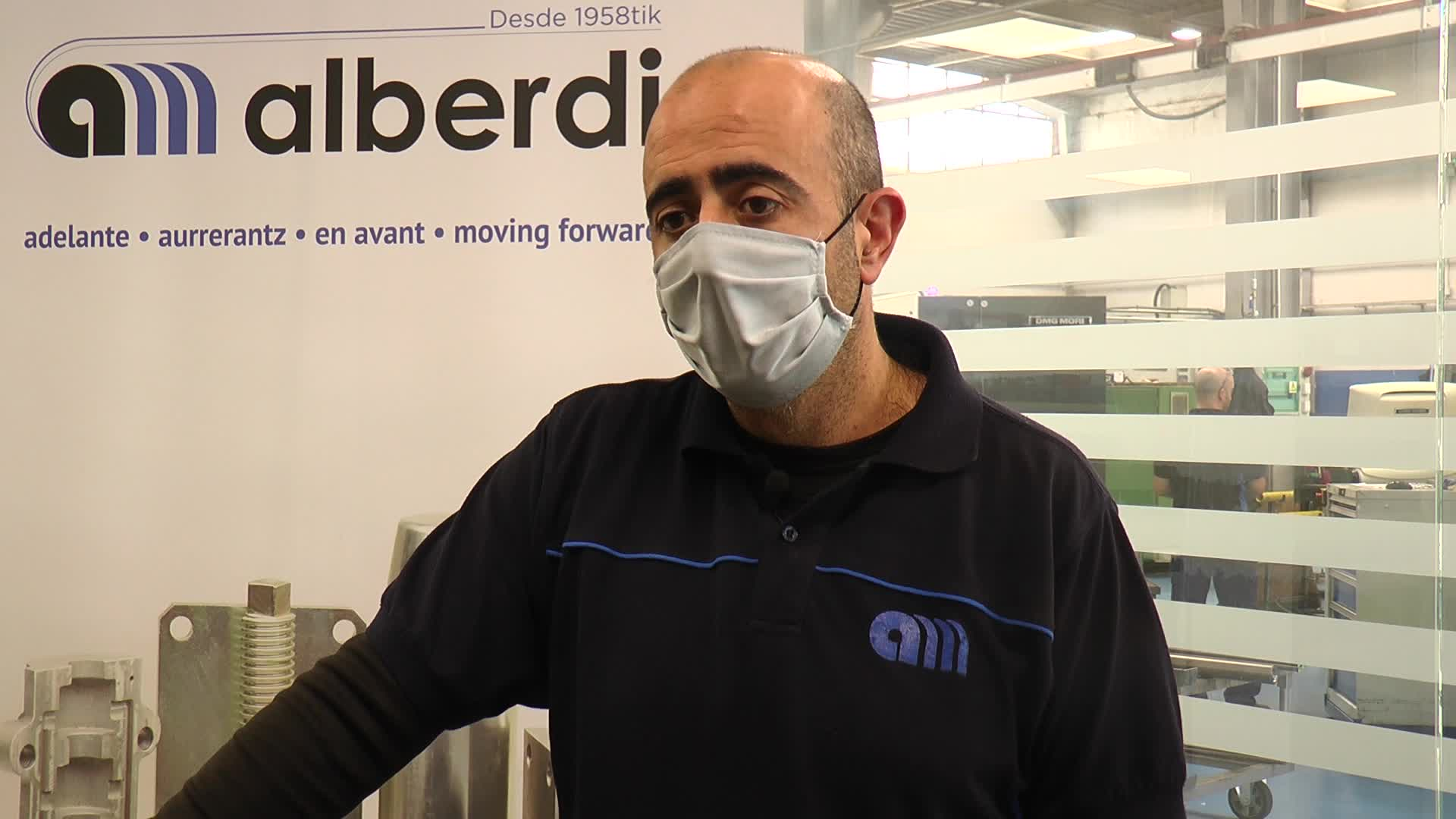 Alberdi Mekanizatu Lanak enpresa osatu dute Mecanizados Gurrutxaga eta Alberdi Mekanizatuak enpresek