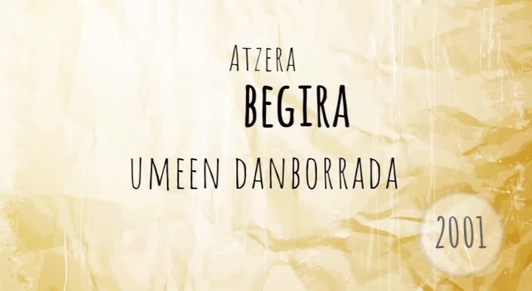 Atzera Begira umeen danborrada 2001