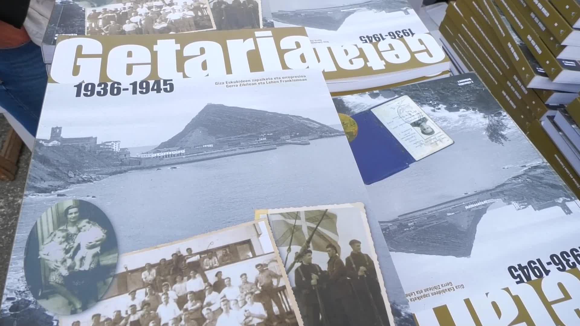 Getaria 1936-1945, Giza Eskubideen zapalketa eta errepresioa Gerra Zibilean eta Lehen Frankismoa liburua aurkeztu zuten
